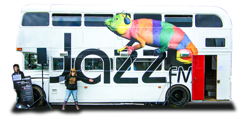 Ruth Fisher JazzFM Bus